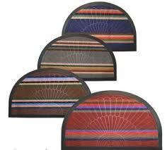 Придверні килимок кол. півколо 45х75 см