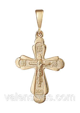 Срібний хрест П3/014, фото 2