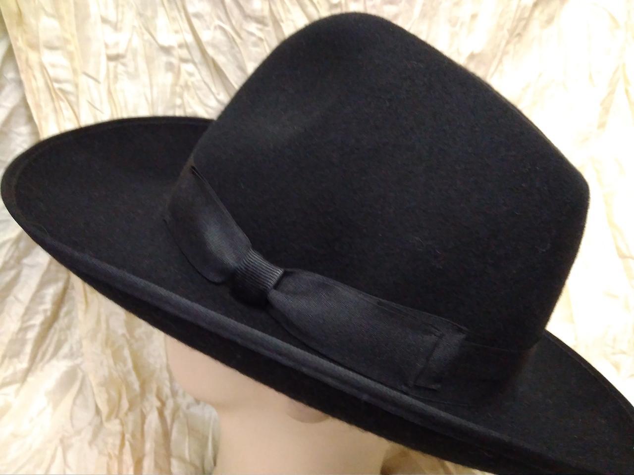 Мужская  шляпа  из фетра с большими полями разм 57-59