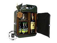 Мини бар на основе канистры (деревянная отделка ) - оригинальный подарок для мужчины-автолюбителя