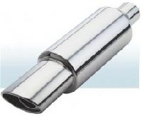 Прямоточный глушитель CarEx, 500,4 мм , d=63,5 мм