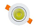 Светильник светодиодный Biom DL-7W-R-COB 7Вт круглый 6000K белый, фото 3