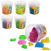 Песок для творчества MK 0467 6 цветов 1000