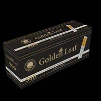 Сигаретные гильзы Golden Leaf 500шт в одной упаковке, гильзы папиросные, для табака