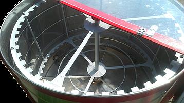 Медогонка радиальная на 75 рамок Мр-75к, краска, фото 2