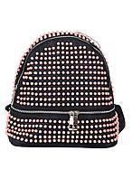 Женский рюкзак Alex Max розовый 803 (реплика)