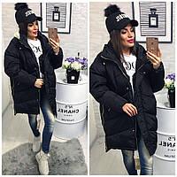 Куртка-пальто №01537 (плотная плащевка-наполнитель холофайбер) сезон-зима