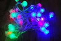 """Новогодняя светодиодная гирлянда """"Ежики"""" 25 светодиодов"""