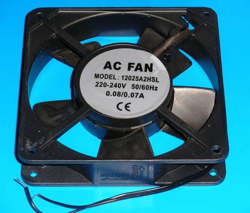 Вентилятор для холодильника 120x120x26 мм, фото 2