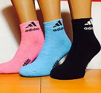 """Носки женские зимние спортивные """"Adidas"""" размер 37-39, ассорти"""
