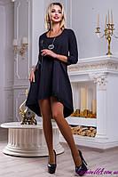 Оригинальное Изящное Нарядное Платье Черное р.42 44 46 48, фото 1