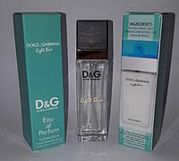 Мини парфюм Dolce & Gabbana Light Blue pour femme 40 ml