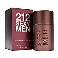Туалетная вода Carolina Herrera 212 Sexy Men (edt 100ml (стекло))