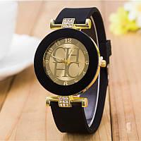 Женские часы CHHC черные с золотым