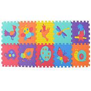Детский массажный коврик-мозаика M 3521 Веселая мозаика животные, фото 2