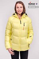 Женская куртка Avecs, желтый Р. 46