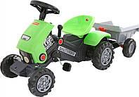 Автомобиль-каталка Turbo-2 с педалями и полуприцепом 52742 Polesie