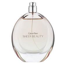 Calvin Klein Sheer Beauty туалетная вода 100 ml. (Тестер Кельвин Кляйн Шер Бьюти)