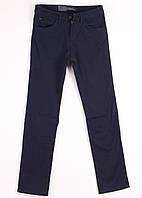 9131 LS (29-38, 8 ед. ) зима-стретч джинсы мужские на флисе тёмно-синий