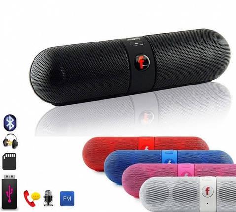 Портативная Bluetooth колонка с MP3 BT-808, фото 2