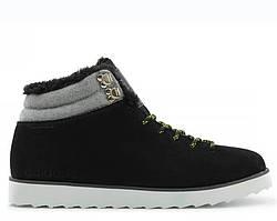Кроссовки с мехом Adidas Ransom Seneo Rugged Black Grey