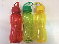 Спортивная бутылка с трубочкой для напитков 600мл
