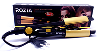 Утюжок плойка выпрямитель для волос Rozia HR705  2 в 1