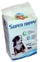 Пеленки  Super Nappy 10 шт 60*90