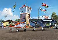 Фотообои фотошпалери Komar 8-469 Disney Planes Terminal Аэропорт 368х254 бумажные