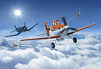 Фотообои фотошпалери Komar 8-465 Disney Planes above the Clouds Самолеты над облаками 368х254 бумажные