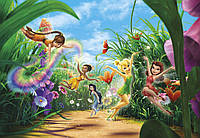 Фотообои фотошпалери Komar 8-466 Disney Fairies Meadow Феи 368х254 бумажные
