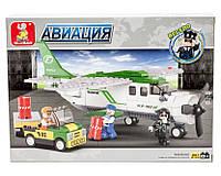 Конструктор Sluban серия Авиация M38-B0362 Транспортный самолет, фото 1