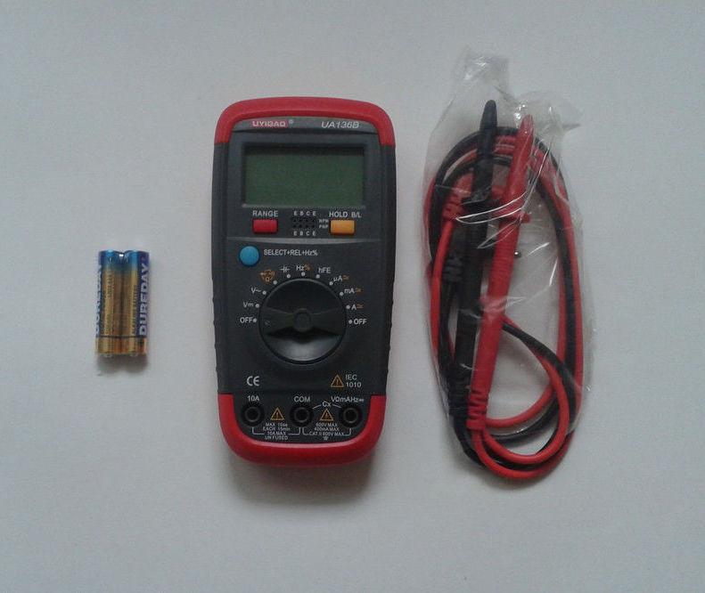 Мультиметр тестер цифровой UA136B