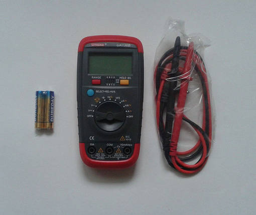 Мультиметр тестер цифровой UA136B, фото 2