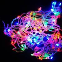 Новогодняя светодиодная гирлянда цвет мульти 300Led