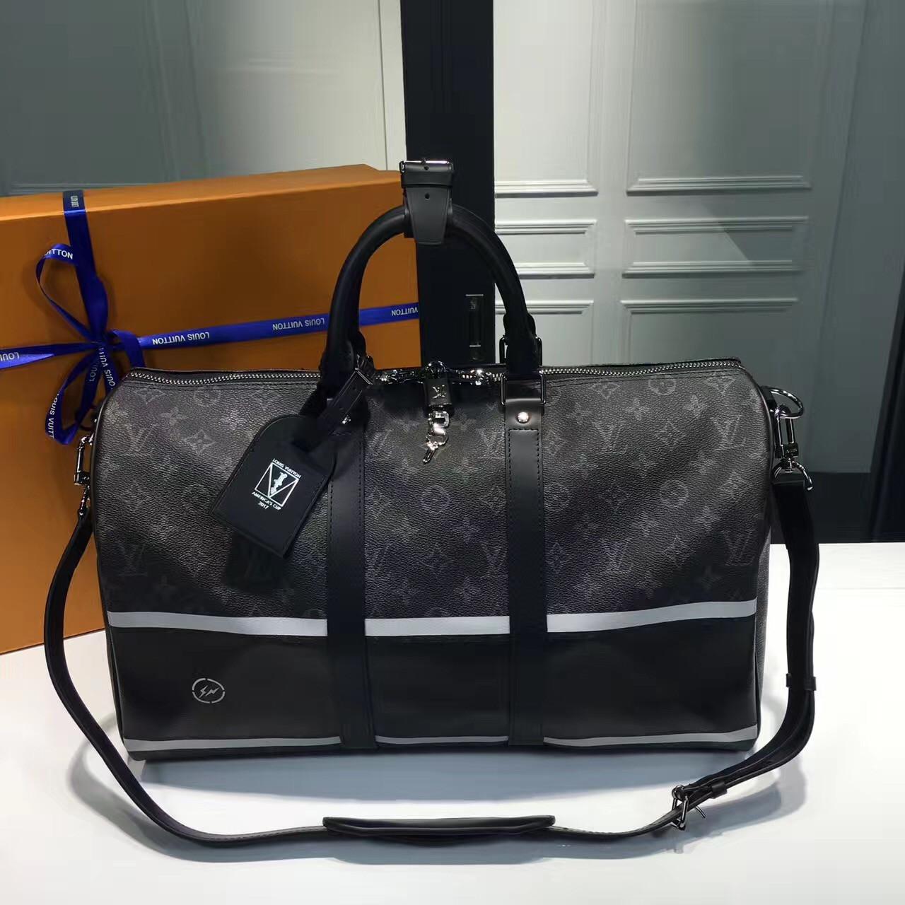 Louis Vuitton Keepall - дорожная сумка Луи Виттон   vkstore.com.ua fca1a43dbd6
