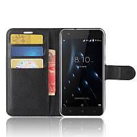 Чехол-книжка Litchie Wallet для Blackview A7 Pro Черный