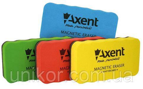 """Губка для дощок сухостираєма """"EVA"""", магнітна, асорті. AXENT"""