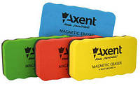 """Губка для досок сухостираемых """"EVA"""", магнитная, ассорти. AXENT"""