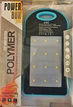 Power Bank A50 solar power + фонарик 10800mAh, фото 2