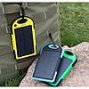 Power Bank A50 solar power + фонарик 10800mAh, фото 4