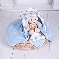 Комплект для купания малыша (полотенце и рукавичка) арт. 21