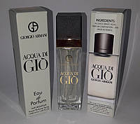 Мини парфюм Giorgio Armani Acqua di Gio pour homme 40 ml