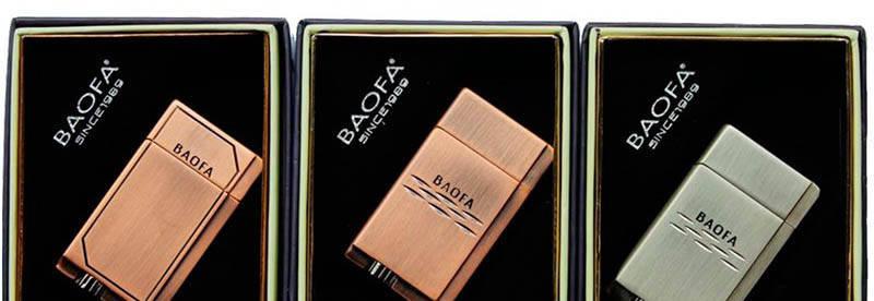 Зажигалка подарочная Baofa №4076, фото 2
