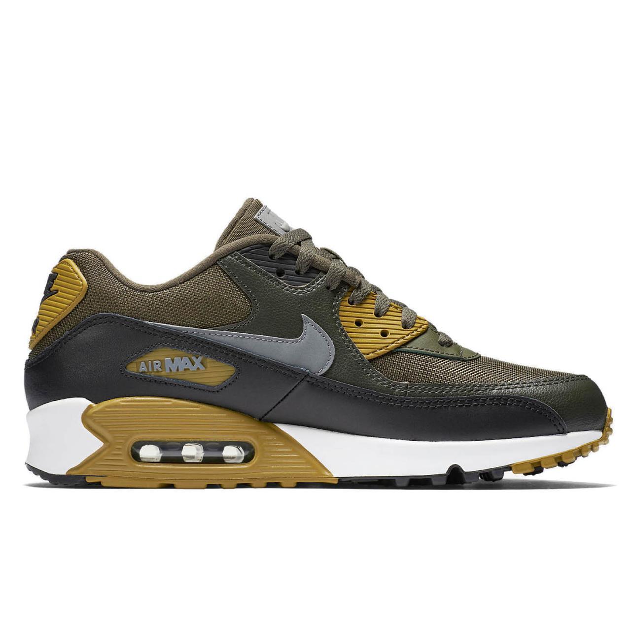 9324b1f7 Оригинальные кроссовки Nike Air Max 90 Essential Khaki White -  Sport-Sneakers - Оригинальные кроссовки