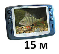 Подводная видеокамера для зимней рыбалки видеоудочка 15 м, фото 1