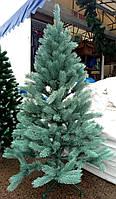 Елка искусственная литая Смерека 1.5 м - голубая