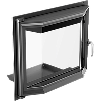 Призматические дверцы для камина Kratki Zuzia 515х652 мм, фото 1