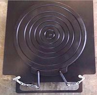 Передние поворотные круги для развал схождения, механические