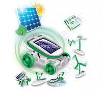Конструктор РОБОТ на солнечных батареях  6 В 1